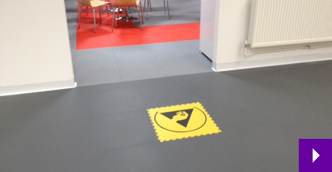 Antistatic Floor Tiles